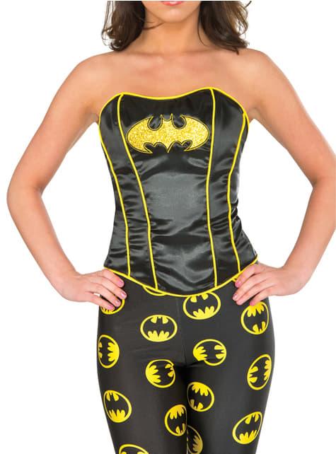 Corsé de Batgirl deluxe para mujer
