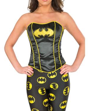Corset Batgirl deluxe femme