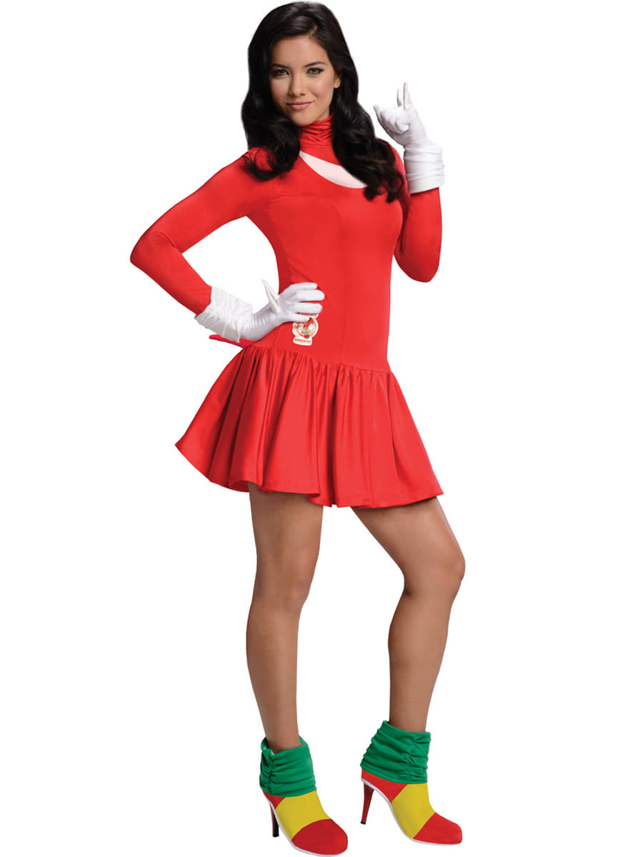 Knuckles the Igel Kostüm für Erwachsene
