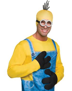 Handskar Minions för vuxen