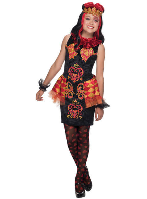 Girl's Lizzie Hearts Ever After High Costume