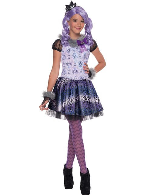 Girl's Kitty Cheshire Ever After High Costume