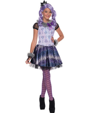 Costum Kitty Cheshire Ever After High pentru fată