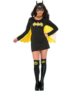 Dámské šaty s křídly Batgirl