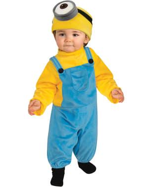 Maskeraddräkt Minion Stuart för bebis