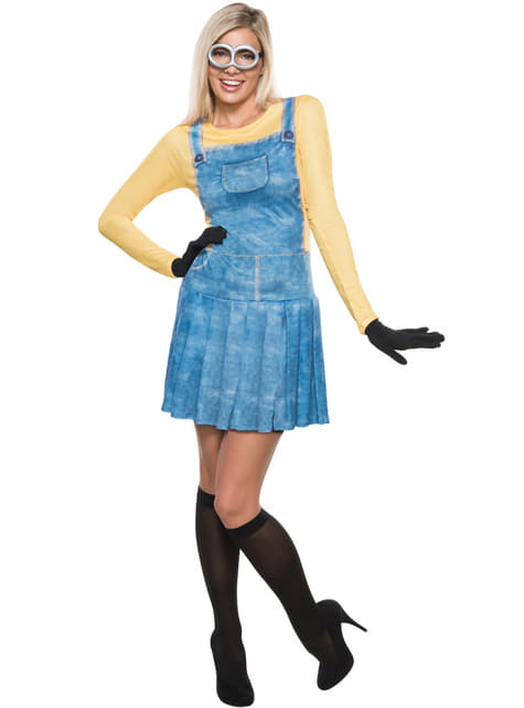 Disfraz de Minion deluxe para mujer