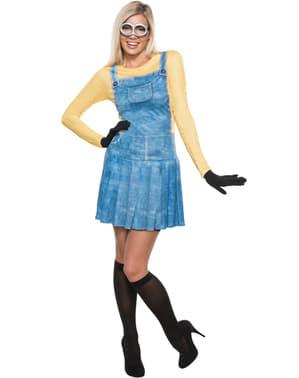Minion kostume deluxe til kvinder