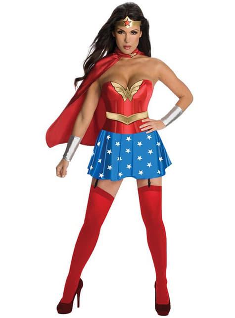 Fato de Super-Mulher sexy