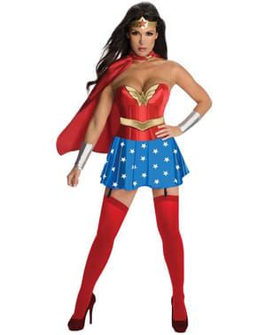 Kostým pro dospělé sexy Wonderwoman