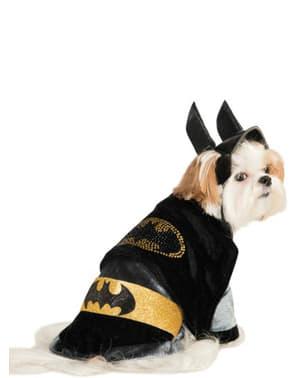 Dog's Adorable Batman Costume