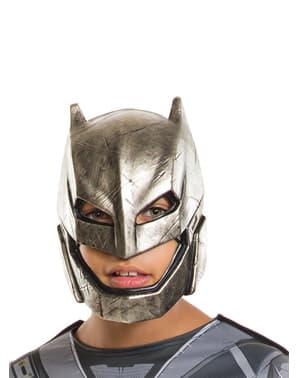 Máscara de Batman armadura Batman vs Superman para niño