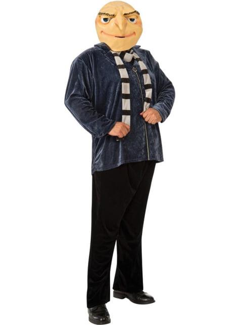 Disfraz de Gru Mi Villano Favorito para hombre talla grande