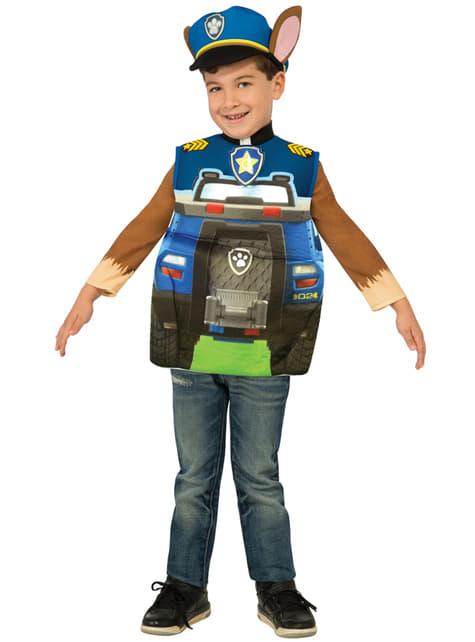 Kids Chase Truck Paw Patrol Costume