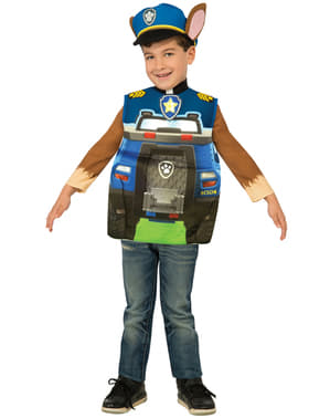 Kids Chase Truck Paw Patrol Costume