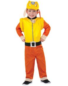 Children's Rubble Paw Patrol Costume