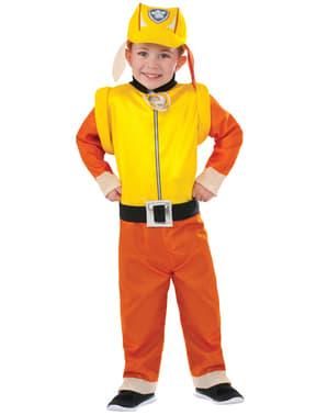 子供用のがれき足パトロール衣装
