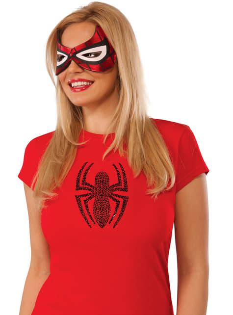 Antifaz de Spidergirl para mujer