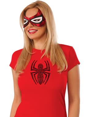 Spidergirl Ansiktsmaske for Dame