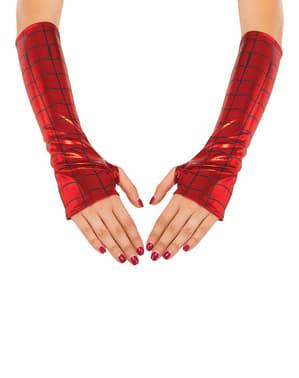 Handschoenen Spidergirl voor vrouw