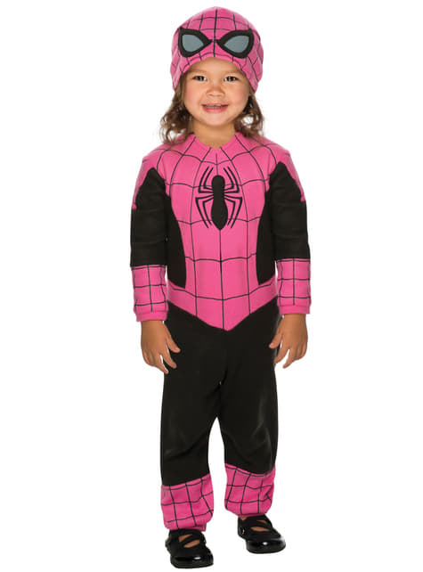 Baby's Pink Spidergirl Costume