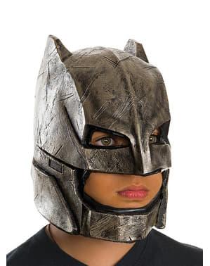 Máscara completa de Batman, Batman vs Super-Homem para menino