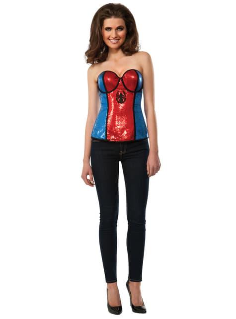 Korset Spidergirl voor vrouw