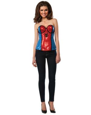 Women's Spidergirl Corset