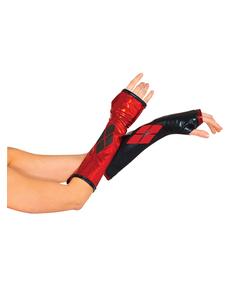 Harley Quinn Handschuhe für Damen