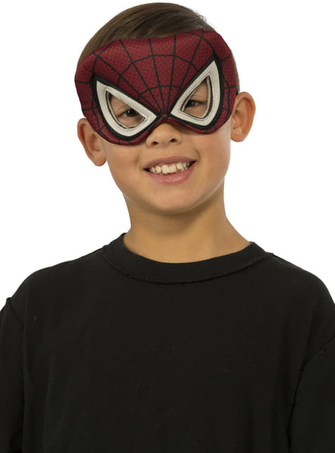 Antifaz de Spiderman para niño
