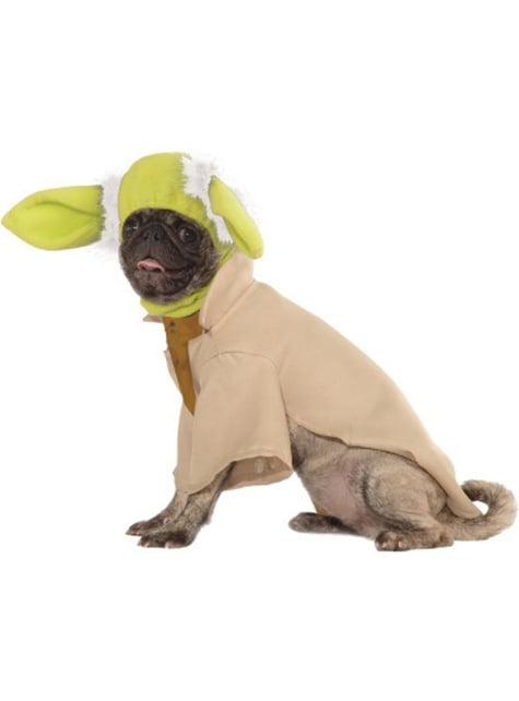 Fato de Yoda deluxe para cão
