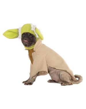 Yoda kostume deluxe til hunde