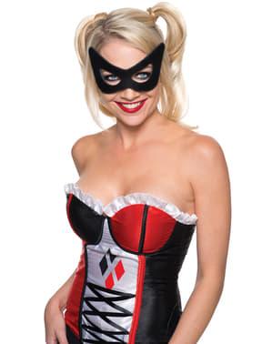 Halvmask Harley Quinn Suicide Squad dam