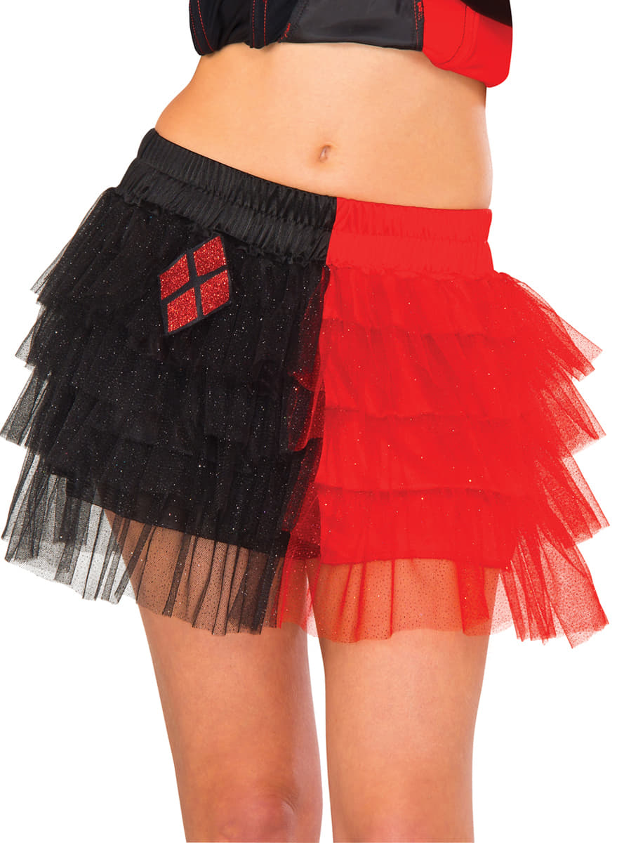 jupe tutu harley quinn femme pour d guisement funidelia. Black Bedroom Furniture Sets. Home Design Ideas