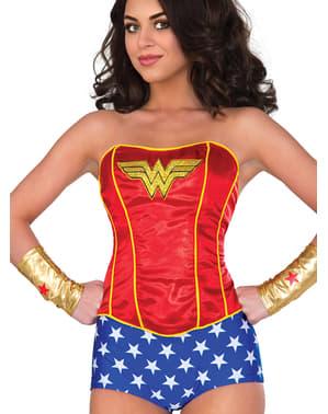 Wonder Woman korsett til dame
