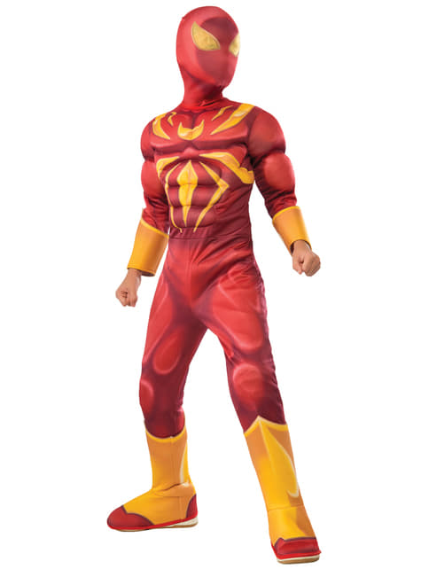 Fato de Iron Spider deluxe para menino