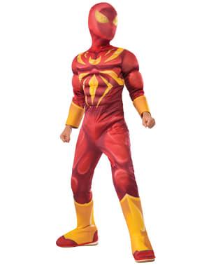 תלבושות עכביש הברזל דלוקס של Boy