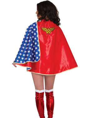 Deluxe Wonder Woman Kappe Dame