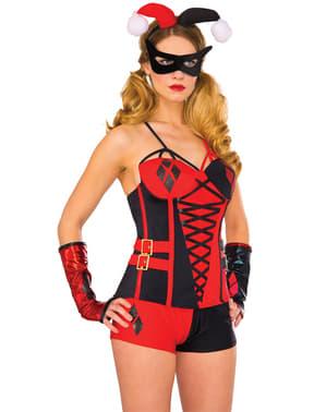 Women's Deluxe Harley Quinn Corset