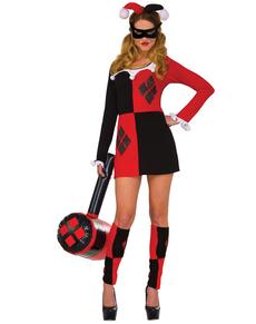 Harley Quinn kostume classic til kvinder