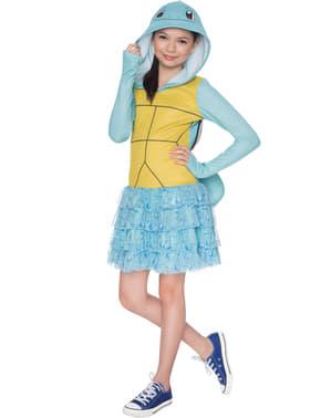 Strój Squirtle Pokemon dla dziewczynki