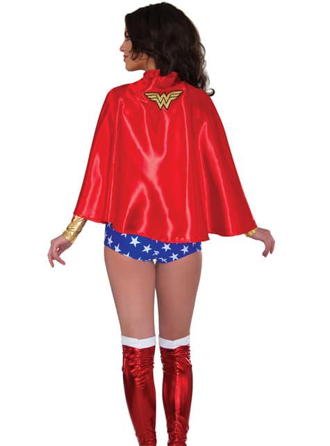 Capa de Wonder Woman para mujer