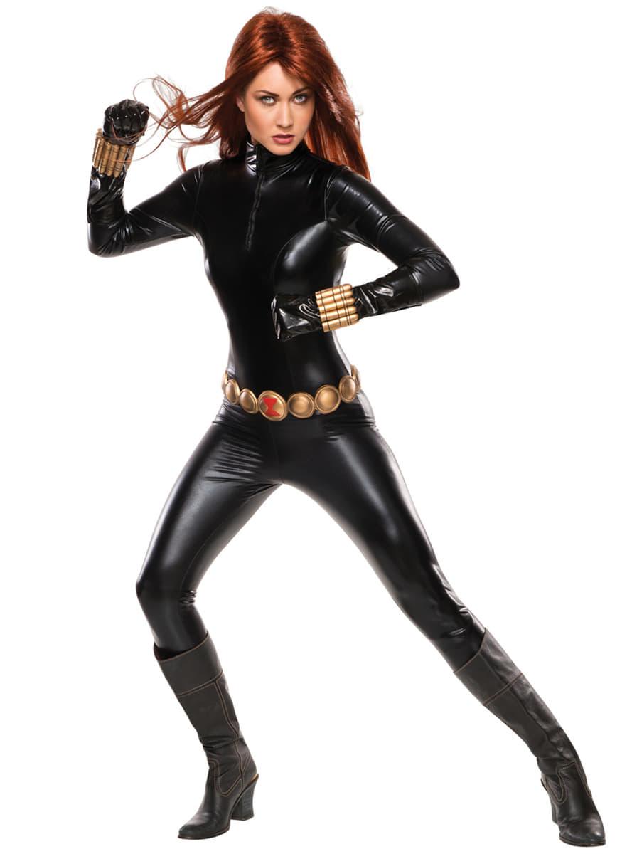 Disfraz de viuda negra grand heritage para mujer entrega 24h funidelia - Super heros fille marvel ...