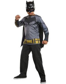 Kit disfraz de Batman Batman vs Superman para niño