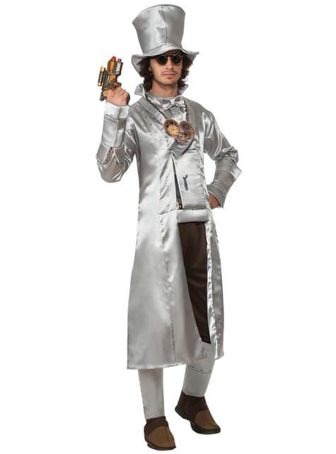 Disfraz de Hombre de Hojalata Mago de Oz steampunk para hombre