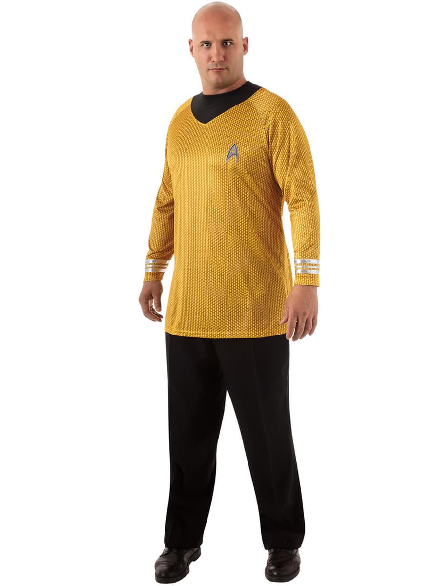 costume capitaine kirk star trek homme grande taille funidelia. Black Bedroom Furniture Sets. Home Design Ideas