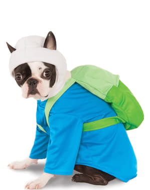 Finn Kostüm für Hunde aus Adventure Time - Abenteuerzeit mit Finn und Jake