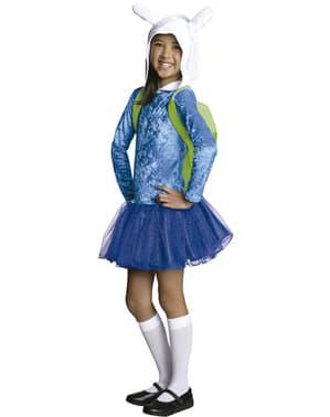 Fionna Kostüm für Mädchen aus Adventure Time - Abenteuerzeit mit Finn und Jake