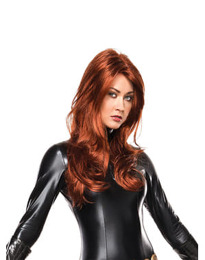 Glatt Black Widow Parykk Dame