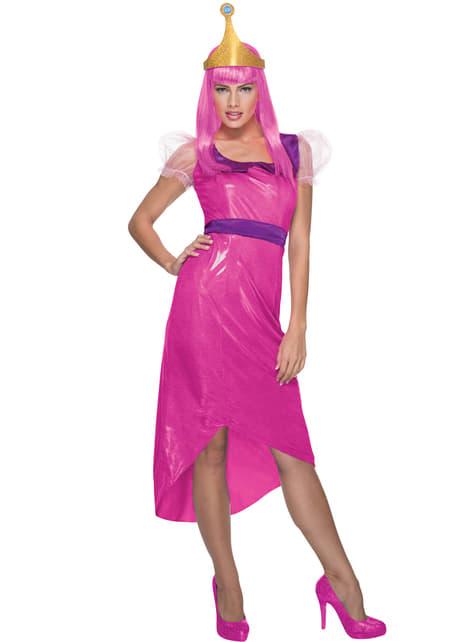 Princess Bubblegum Adventure Time Kostuum voor vrouw