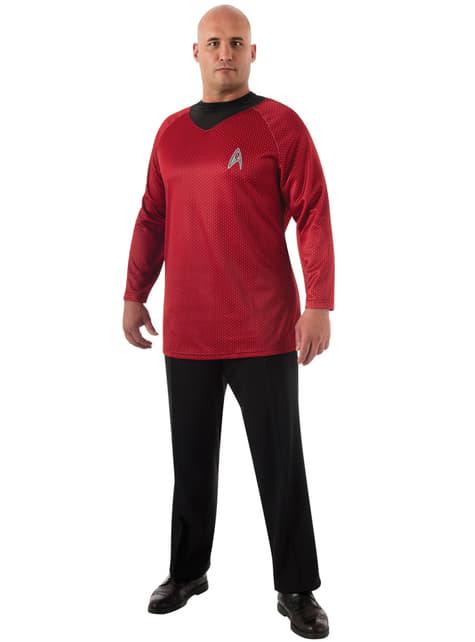 Disfraz de Scotty Star Trek para hombre talla grande